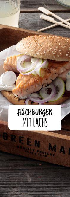 Fischburger mit Lachsfilet – mehr als nur ein Fischbrötchen.