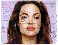 Red Team Consultoria de Beleza Imagem & Estilo: Agosto 2014 in 2019 Permanent Makeup Eyebrows, Eyebrow Makeup, Makeup Art, Beauty Makeup, Beauty Fair, Facial Anatomy, Facial Proportions, Facial Aesthetics, Eyebrow Tinting