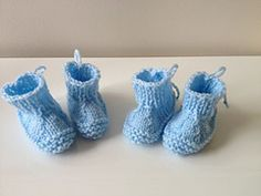 Ravelry: Baby Bootie Shoes pattern by Leanna Booth