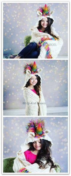 Unicorn Crochet Patt
