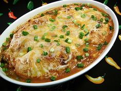 Southwestern Chicken and Rice Casserole  A Tex-Mex dinner all in one dish. It goes together quickly and the oven does all the work.