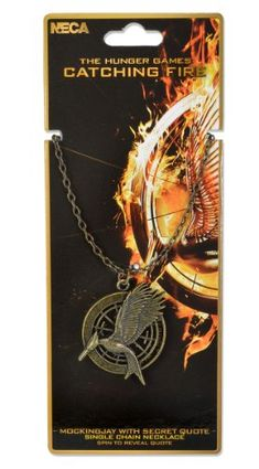 The Hunger Games 2 Necklace Mockingjay Quote Merchandise 24/7 http://www.amazon.com/dp/B00GA9380E/ref=cm_sw_r_pi_dp_Cwv6tb0ZN5K5R