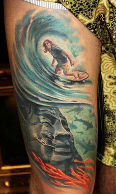 Sports Tattoo by Geza Ottlecz | Tattoo No. 10077