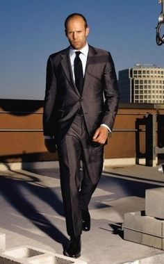 Jason Statham - DAMN the man is made to wear a suit!