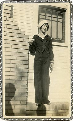 vintage Sailor Girl
