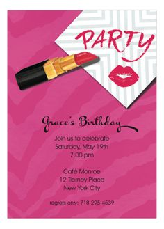 188 Best Party Birthday Invitations Inspiration Images