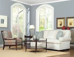 Temple Furniture - Winston Sofa & Sahara Chair