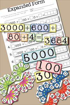 This Free Printable Place Value Game for Learning Expanded Form from Little Learning Lovies will give your kids great hands-on experience manipulating numbers and quickly expanding and adding them. It's a great math skill they'll be grateful to have mastered. Free Printable Place Value Game For Learning Expanded Form Expanded form can be a tricky concept but with this game, it's quick to SHOW kids how separating numbers into their parts can be quick and easy! The set comes with number…