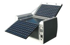POWERCUBE: Rock-Solid Solar Generator To-Go   Inhabitat - Sustainable Design Innovation, Eco Architecture, Green Building