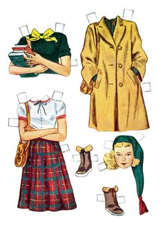 Sidney Paper Doll | Free Patterns | Yarn *** Paper dolls for Pinterest friends, 1500 free paper dolls at Arielle Gabriel's International Paper Doll Society, writer The Goddess of Mercy & The Dept of Miracles, publisher QuanYin5