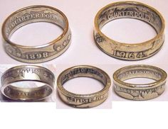 Making Rings From Silver Coins