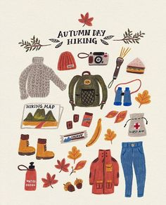 Autumn and Winter will always be my favourite illustration ideas Illustration Inspiration, Illustration Art, Winter Illustration, Autumn Day, Autumn Leaves, Autumn Aesthetic, Guache, Grafik Design, Illustrations
