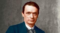 Rudolf Steiner in 1916. Beautiful in color.