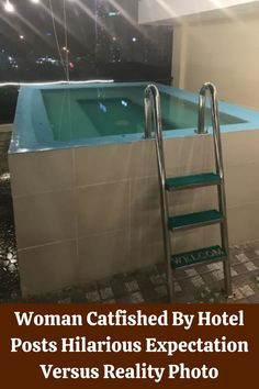 Woman Catfished By Hotel Posts Hilarious Expectation Versus Reality Photo