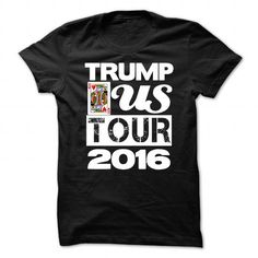 Donald Trump: Donald Trump US Tour 2016 v.1 T-Shirts