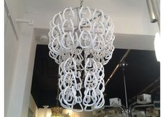 Horshoe Ring Chandelier by Angelo Mangiarotti for Vistosi - Chandeliers - Lighting - Products - PAMONO