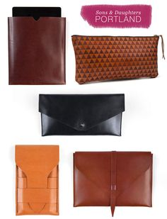 Leather goods from Sons & Daughters Portland, plus a code for 25% off // www.jojotastic.com