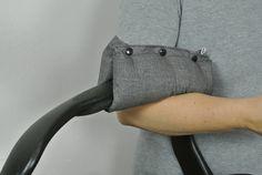 Armpolster  Babyschale, wasserabweisend von Babylees auf DaWanda.com