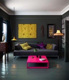 12 neon color living room decor