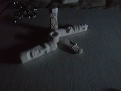chalk carving
