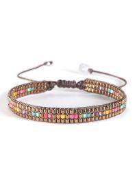 Loom Bracelet Patterns, Bead Loom Bracelets, Woven Bracelets, Jewelry Bracelets, Bracelets Wrap En Cuir, Seed Bead Crafts, Loom Beading, Jewelry Crafts, Beaded Jewelry