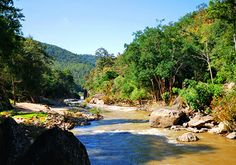 Ob Luang National Park in Thailand