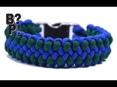 "Make the ""Side Step"" Paracord Survival Bracelet - BoredParacord.com - YouTube"