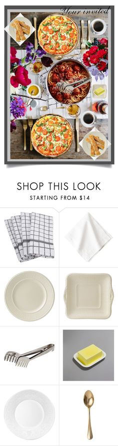 Dinner by beleev on Polyvore featuring interior, interiors, interior design, home, home decor, interior decorating, Wedgwood and Juliska