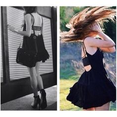 Make an offer Authentic Brandy Melville. Black Jada dress. Wear it with a bralette or without for casual fun look anytime. Actual pictures of real dress are 3 & 4. Brandy Melville Dresses Mini