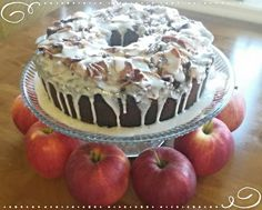 ~Shamrok's~ Catholic Girl's  Jewish Apple Cake