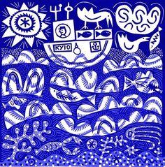 Blue Sea by Hilke MacIntyre