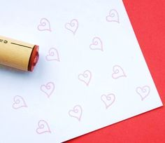 Hey, I found this really awesome Etsy listing at https://www.etsy.com/listing/62562850/loop-heart-rubber-stamp
