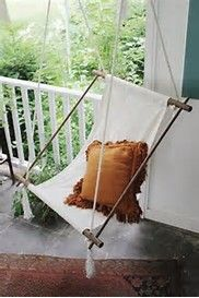 DIY Hanging Porch Chair