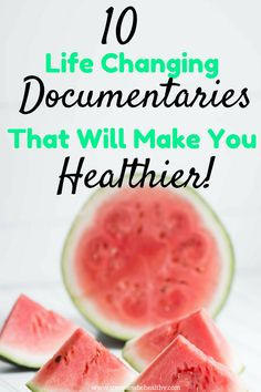 Have you ever wondered which health documentaries are actually worth watching on Netflix? Which ones will fill you with excitement and motivation to better your health and your life? Find out what the best, and most rewarding to watch documentaries are on Good Documentaries To Watch, Health Documentaries, Netflix Documentaries, Health And Nutrition, Health And Wellness, Health Fitness, Health App, Mental Health, Brain Healthy Foods