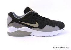 buy online bac12 6d0ea Nike men s Zoom Pegasus 92 casual shoes sneakers Black Metallic Silver Grey   Nike  Casual