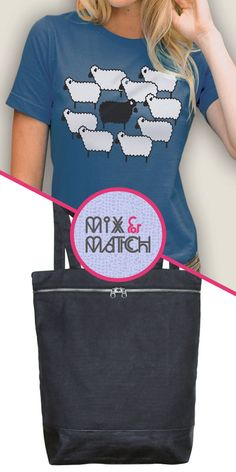 mix & match featuring handmade bags from dargelos & tees from banyan tree