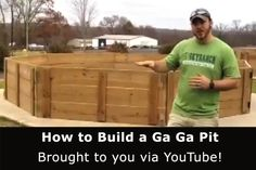 GaGa Pit- I bet you could use old pallets