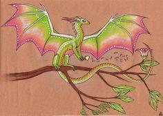 Summerday dragon by Rykhers.deviantart.com on @deviantART