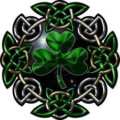 Celtic Knot with Shamrock Tribal Tattoos, Tattoos Skull, Celtic Tattoos, Tatoos, Celtic Clover Tattoos, Wing Tattoos, Zodiac Tattoos, Sleeve Tattoos, Irish Symbols