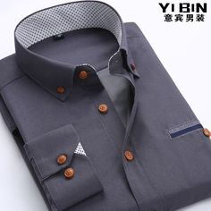 New fashion white collar long sleeve non-iron men dress shirts