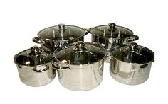 Narita 10pc Cookware Set (Included: 18cm / 20cm / 22cm / 24cm / 26cm) >>> Details can be found by clicking on the image.
