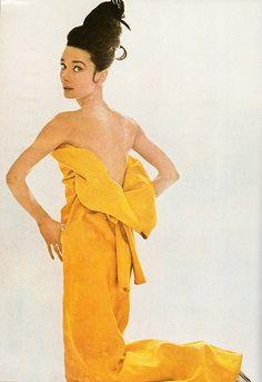 Audrey Hepburn for Vogue, 1963