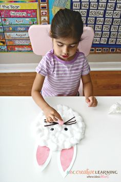 Easy Paper Plate Bunny Craft for Kids Easter Bunny Craft