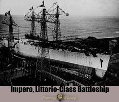 Impero, Littorio-Class Battleship: World War II Battle Boats, Bbs, Float Plane, War Machine, Battleship, World War Ii, Ships, Military, Navy