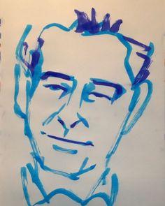 いいね!1件、コメント1件 ― @1mindrawのInstagramアカウント: 「#1mindraw  #piercebrosnan  #ピアースブロスナン  #19530516 #birthday  #誕生日  #portrait  #筆ペン画」