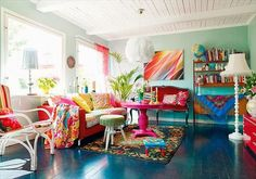 LIA Leuk Interieur Advies/Lovely Interior Advice: Rainbow Rooms