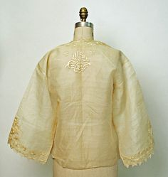 Turkey, embroidered silk blouse late 19th/early 20th c