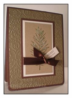 Pine Christmas by jmholmes25 - Cards and Paper Crafts at Splitcoaststampers