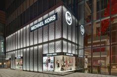 Michael Kors flagship store Shanghai