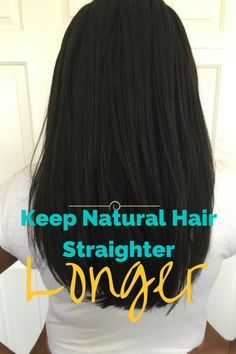 My most recent silk press lasted for 10 plus days (don't believe me, check my Instagram) with little or no reversion at all. Here are a few tips to help make your straight natural hair last longer.